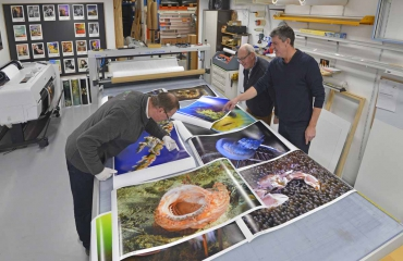 Arca verzorgt prints voor vijfde dynamische foto-expo op Duikvaker