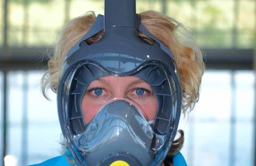 Test snorkelmaskers: Atlantis Triton