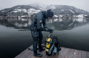 Pacific Diving en AmilcoSports organiseren droogpakpresentaties en testdagen