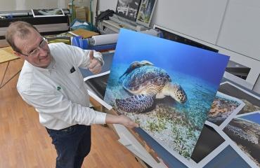 Jouw duikfoto op groot formaat?
