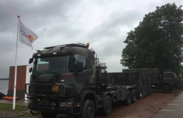 Defensieduikers actief in Vinkeveen