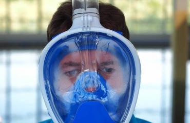 Test snorkelmaskers: DivePro Bella