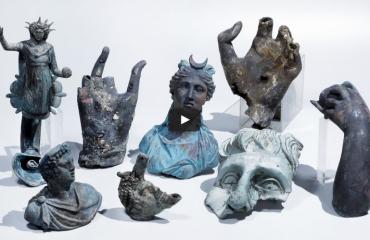 Duikers vinden 1600 jaar oude schat in Israël