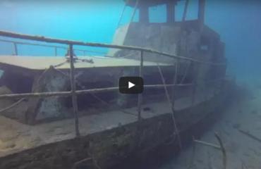 Tim de Haan - Duiken bij het USAT Liberty Shipwreck