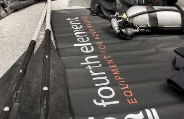 De Fourth Element omkleedmat - handig!
