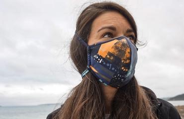 OceanPositive mondmaskers: minder risico, minder afval