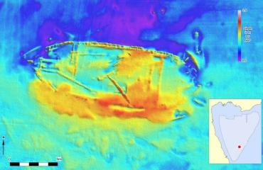 Scheepswrakken gevonden op bodem Markermeer