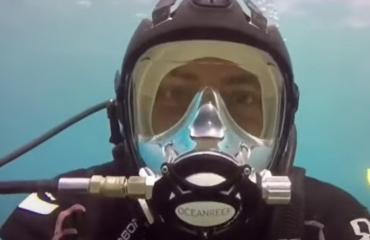 Speciale IDD-opleiding voor duiken met een volgelaatsmasker