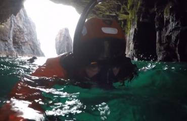 Vlog 'In de Noordzee' - Turbulent duikwater