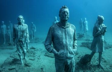 Onderwatermuseum Lanzarote nu officieel open