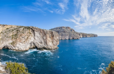 Malta boven water