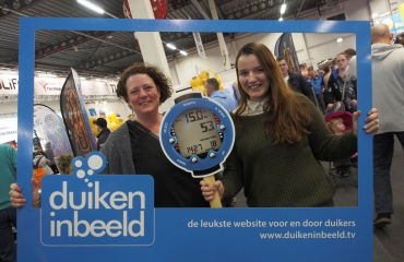 DuikeninBeeld Fotolijst - Wie wint de Suunto Zoom Novo duikcomputer?