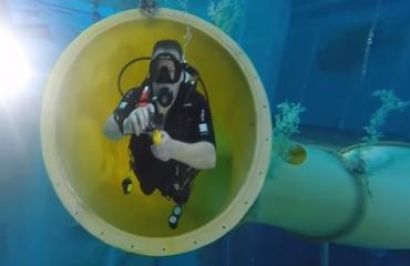 Indoor duiken Monte Mare
