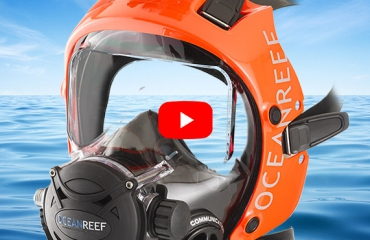 Waarom een volgelaatsmasker en onderwatercommunicatie?