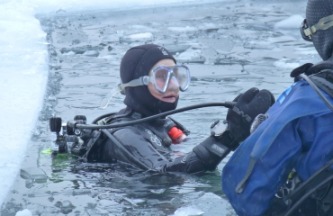 Petra Zondervan - IJsduikexpeditie 2015