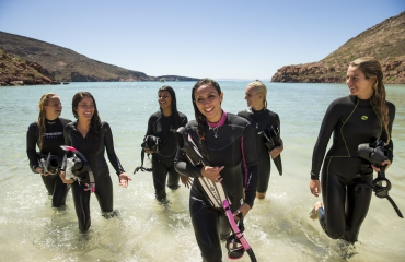 Get connected op Women's Dive Day 2018!