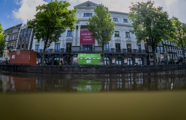 Onder water bij Carré