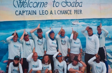 Saba haaienexpeditie 2019 - Catch of the day