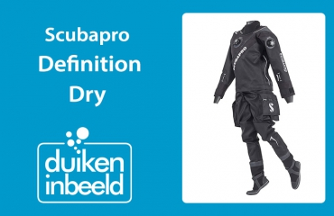 Droogpakken 2019 - Scubapro Definition Dry