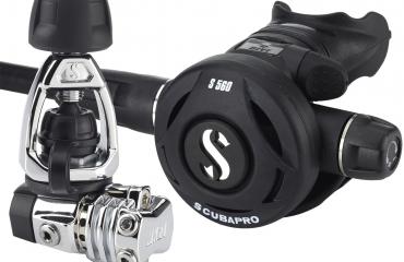 Test: Scubapro S560 met MK21 en S360
