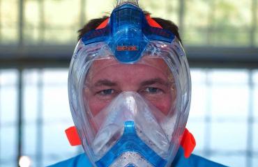 Test snorkelmaskers: SEAC Unica