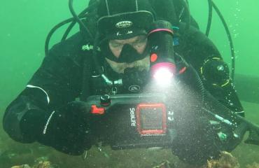 Onder water met de telefoon