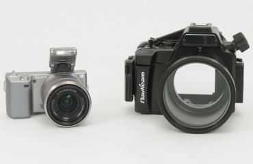 Sony NEX-5 en Nauticam NA-NEX5 getest