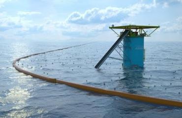 Test The Ocean Cleanup in Noordzee kan doorgaan