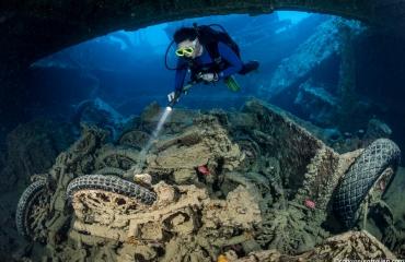 Wrakduiken in de Rode Zee