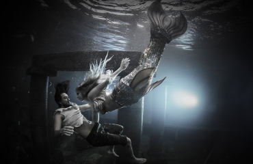 Gered door een zeemeermin - Het verhaal achter de foto