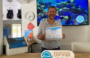 VIP Diving: het eerste 3-sterren Blue Destination gecertificeerde bedrijf op Bonaire