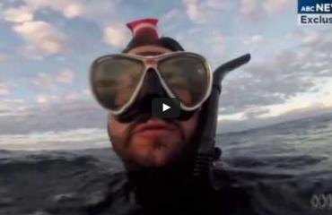 Verdwaalde duiker filmt eigen laatste woorden, maar wordt toch gered
