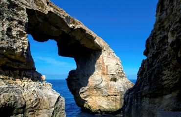 Gozo boven water