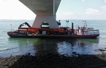 Let op - Werkzaamheden aan de Zeelandbrug