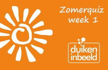 Doe mee met de DuikeninBeeld Zomerquiz - week 1