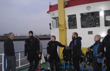 Sabine Bogaert - Weekend duiken met de Tertius