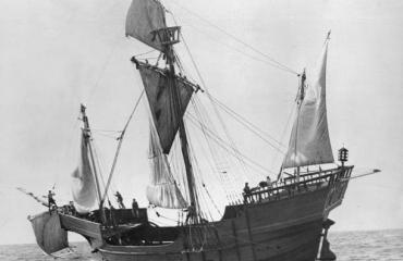 Toch niet het schip van Columbus