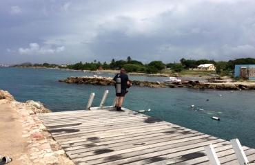 Vincent Dorresteijn - Soloduiken bij dushi Curaçao