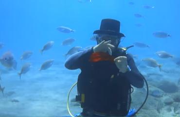 Jan Sturre - De diepste goochelshow in volle zee