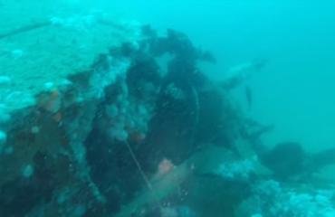 Lars Dekker - Mooie duik op noordzeewrak de Salland