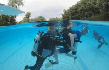Peter Boots - Introductiedag duiken voor scholieren