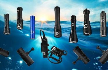 Oceama duiklampen - Een complete lijn voor elke duiker en filmer