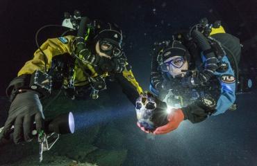 In beeld: Grotduikers vinden skelet uit ijstijd