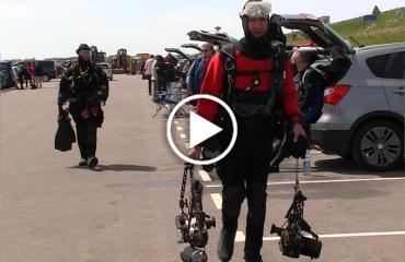 WK in beeld - Stéphane Sandon uit Frankrijk over Zeeuwse duiken