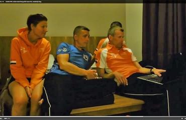 WK in beeld - De eerste wedstrijddag van het Nederlandse team