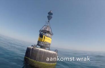 Lars Dekker - Duik op een van de modernste wrakken van de Noordzee