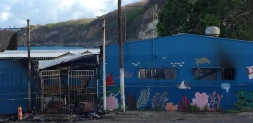 Duikschool Wederfoort door brand verwoest