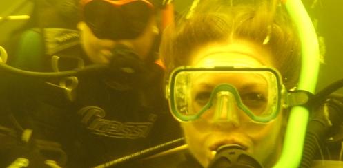 Leonor Nuhaan - Internationale Women`s Dive Day