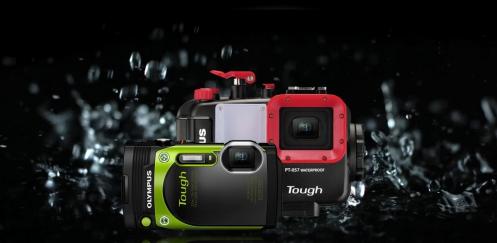 Olympus Tough onderwatercamera-kit voor €449