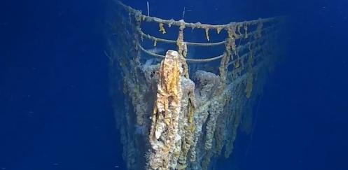 Beschermde status voor Titanic